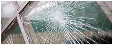 Moss Bank Smashed Glass